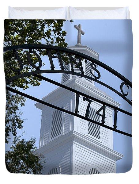 St. John's Duvet Cover