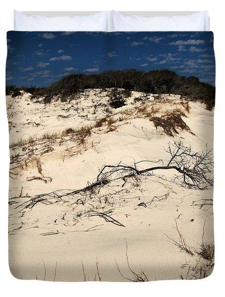 St. Joseph Sand Dunes Duvet Cover by Adam Jewell
