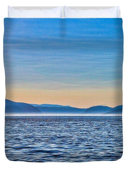 St. Lawrence Seaway Duvet Cover
