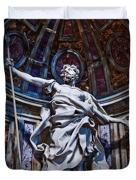 St Longinus Duvet Cover