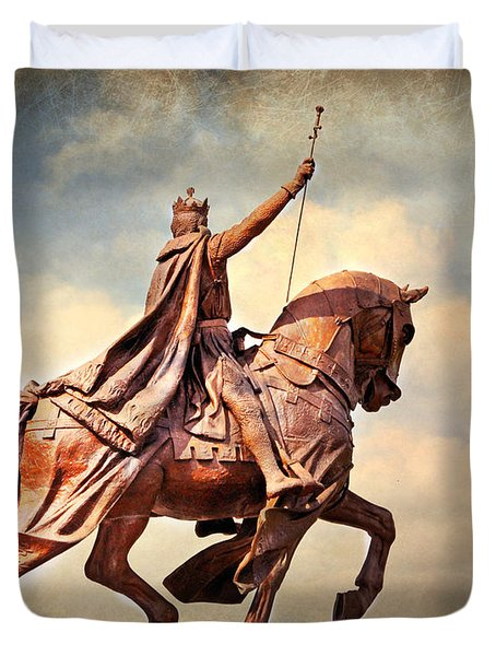 Duvet Cover featuring the photograph St. Louis 4 by Marty Koch