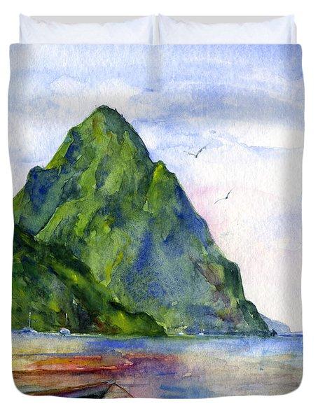 St. Lucia Duvet Cover
