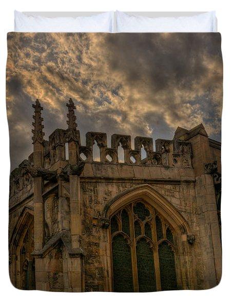 St Martin Coney Street In York Duvet Cover