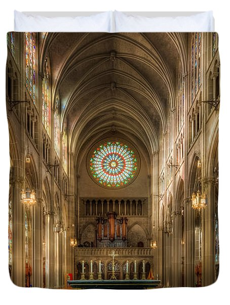 St. Mary Cathedral Basilica Of The Assumption Duvet Cover
