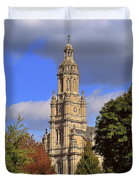 St Mary's Immaculate Conception Church Duvet Cover