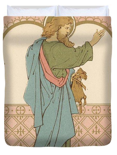 St Matthew Duvet Cover by English School