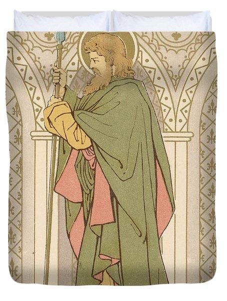 St Matthias Duvet Cover by English School
