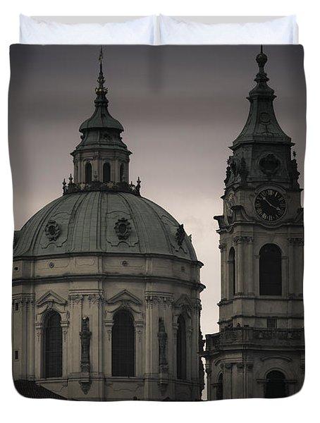 St. Nicholas Church Duvet Cover