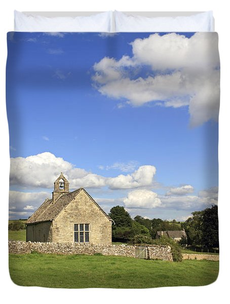 St Oswalds Chapel Oxfordshire Duvet Cover