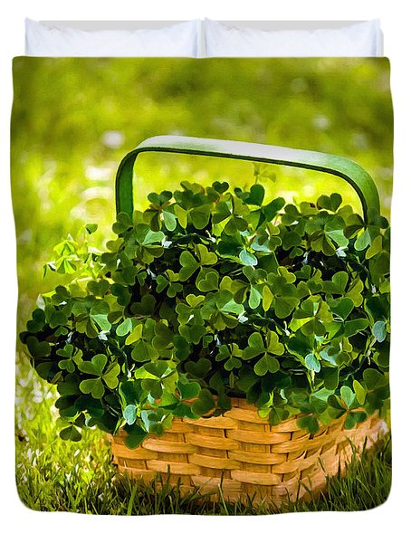 St Patricks Day Duvet Cover