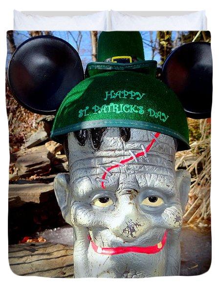 St Patricks Day Spirit Duvet Cover by Ed Weidman