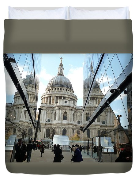 St Paul's Reflected Duvet Cover