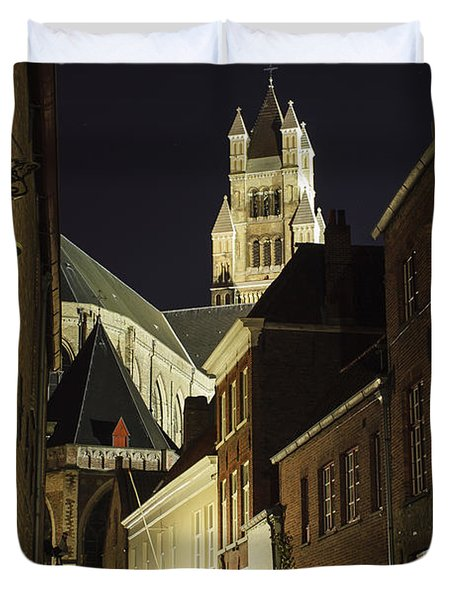 St Saviour Cathedral  Duvet Cover by Adam Romanowicz