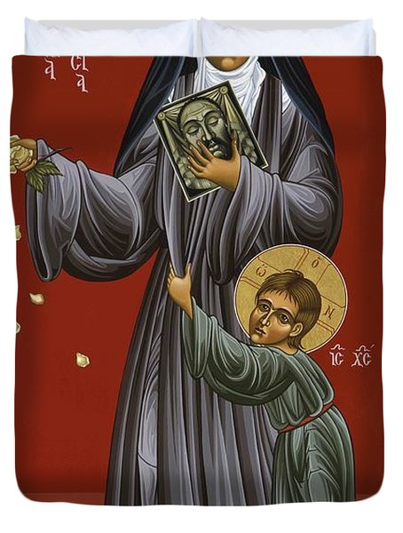 St. Therese Of Lisieux Doctor Of The Church 043 Duvet Cover