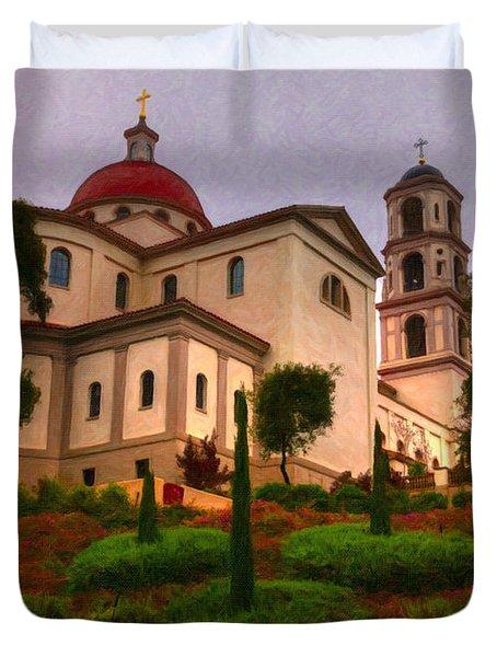 St. Thomas Aquinas Church Large Canvas Art, Canvas Print, Large Art, Large Wall Decor, Home Decor Duvet Cover