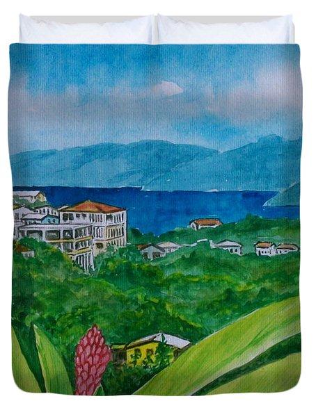 St. Thomas Virgin Islands Duvet Cover