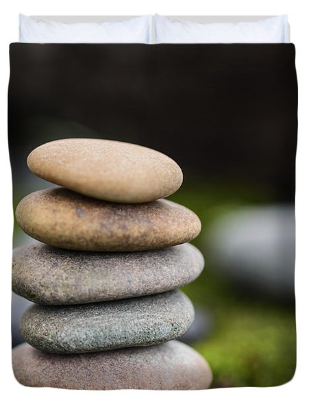 Stacked Stones B2 Duvet Cover