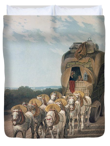 Stage Wagon Duvet Cover