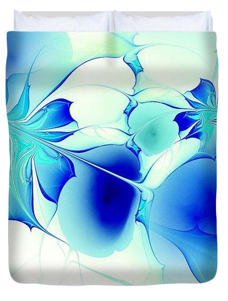 Stained Glass Duvet Cover by Anastasiya Malakhova