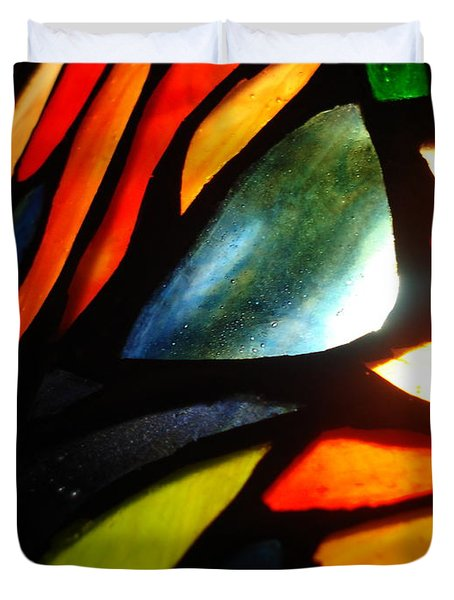 Stained Glass Seven Duvet Cover
