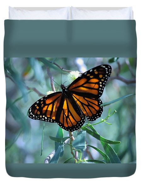Stained Glass Wings Duvet Cover