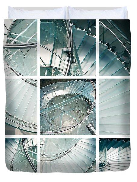 Staircase Jigsaw Duvet Cover
