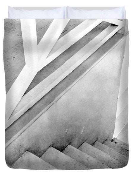 Staircase, Mexico City, C.1924 Duvet Cover by Tina Modotti