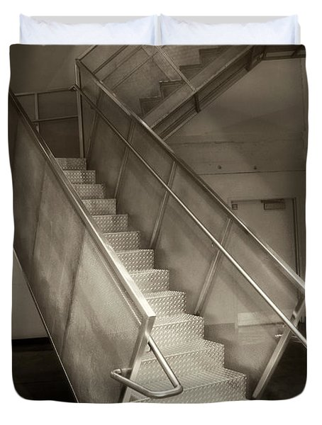 Stairs 01 Duvet Cover