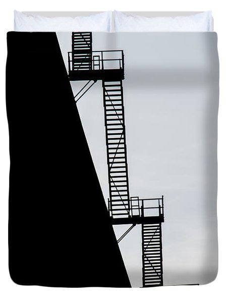 Stairway To Heaven Duvet Cover by Tikvah's Hope
