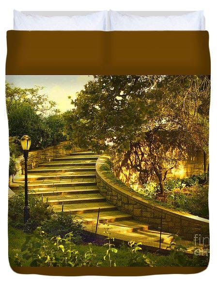 Stairway To Nirvana Duvet Cover by Madeline Ellis