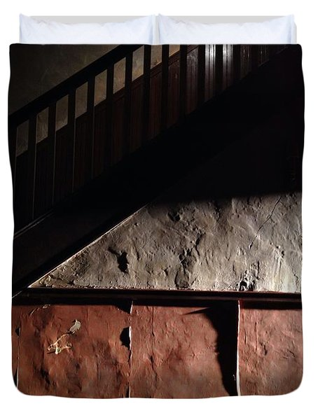Stairwell Duvet Cover by H James Hoff