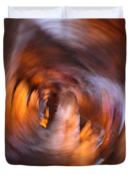 Stalactite Cave Duvet Cover by Doc Braham