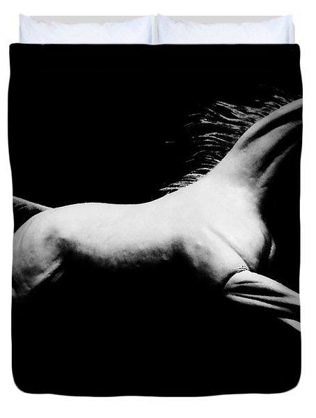 Stallion Duvet Cover by Jessica Shelton