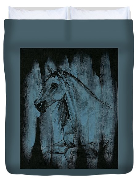 Stallion Duvet Cover