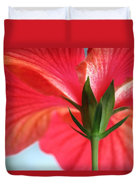 Stand Tall Duvet Cover by The Art Of Marilyn Ridoutt-Greene