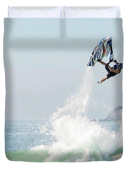 Stand Up Jet Ski Barrel Roll Nac Nac Duvet Cover