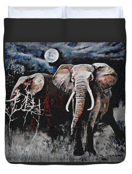 Stand Your Ground Duvet Cover by Michael Durst