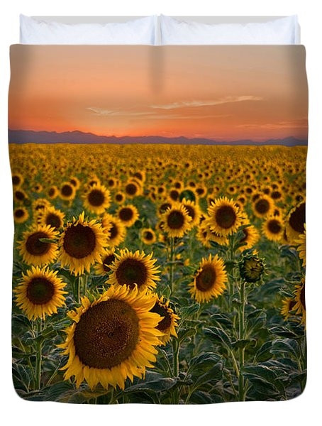 Standing At Attention Duvet Cover