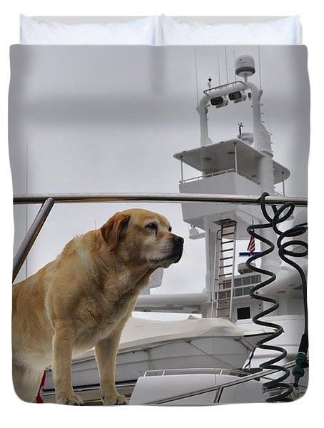 Standing Guard Duvet Cover