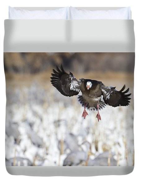 Standing Out Duvet Cover by Bryan Keil
