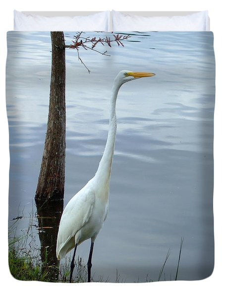 Standing Tall Duvet Cover by Bob Sample