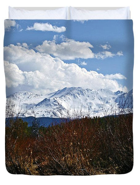 Standing Tall Duvet Cover by Jeremy Rhoades