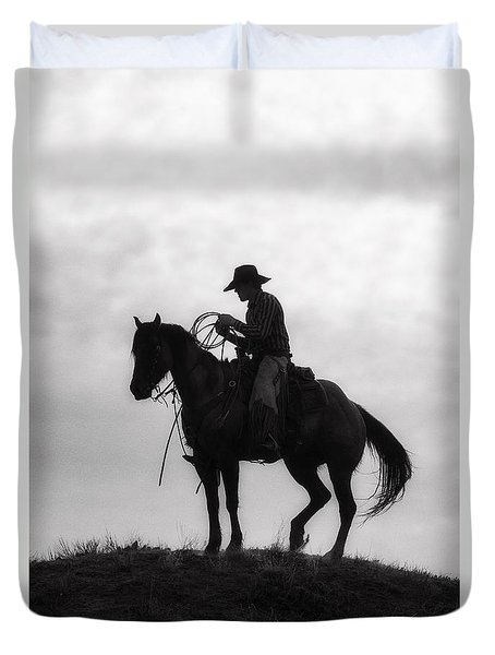 Standing Watch 2013 Duvet Cover