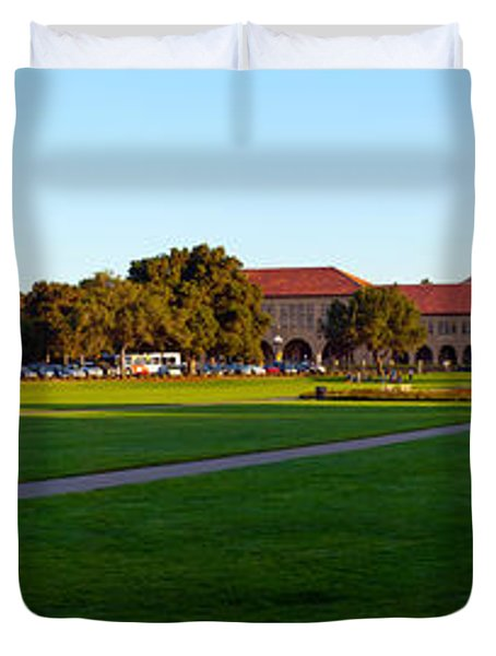 Stanford University Campus, Palo Alto Duvet Cover by Panoramic Images