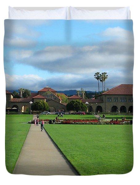 Stanford University Duvet Cover