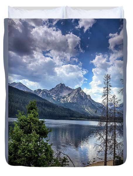 Stanley Lake View Duvet Cover
