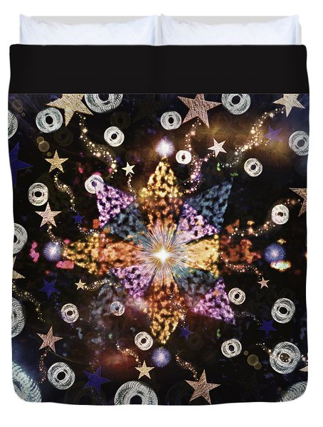 Star Burst Duvet Cover