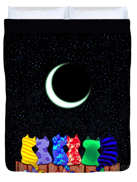 Star Gazers Duvet Cover
