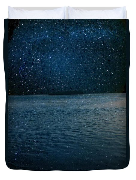 Star Island Duvet Cover by AR Annahita