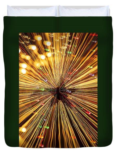 Star Lights Duvet Cover by Garry Gay